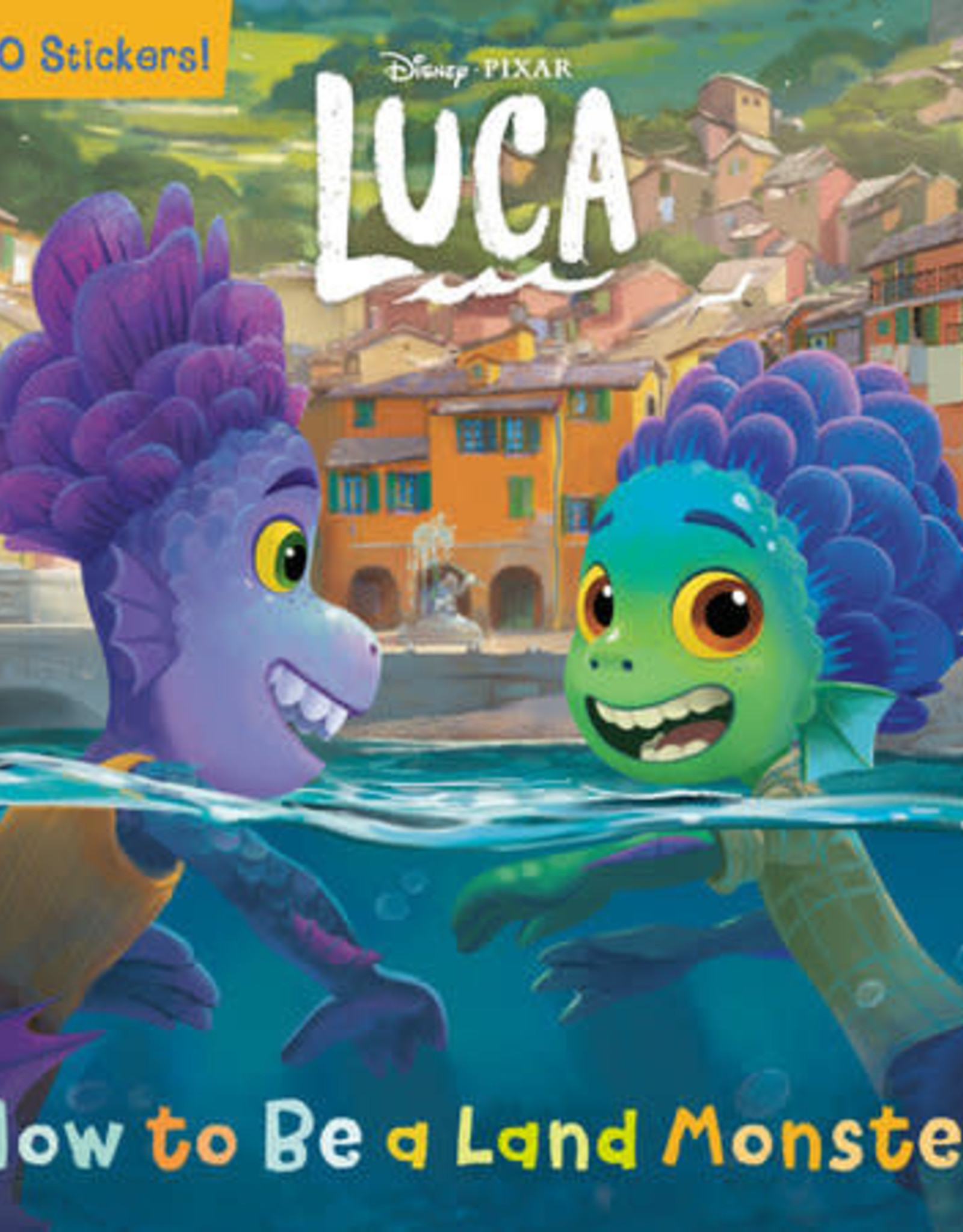 Luca - How to be a Land Monster