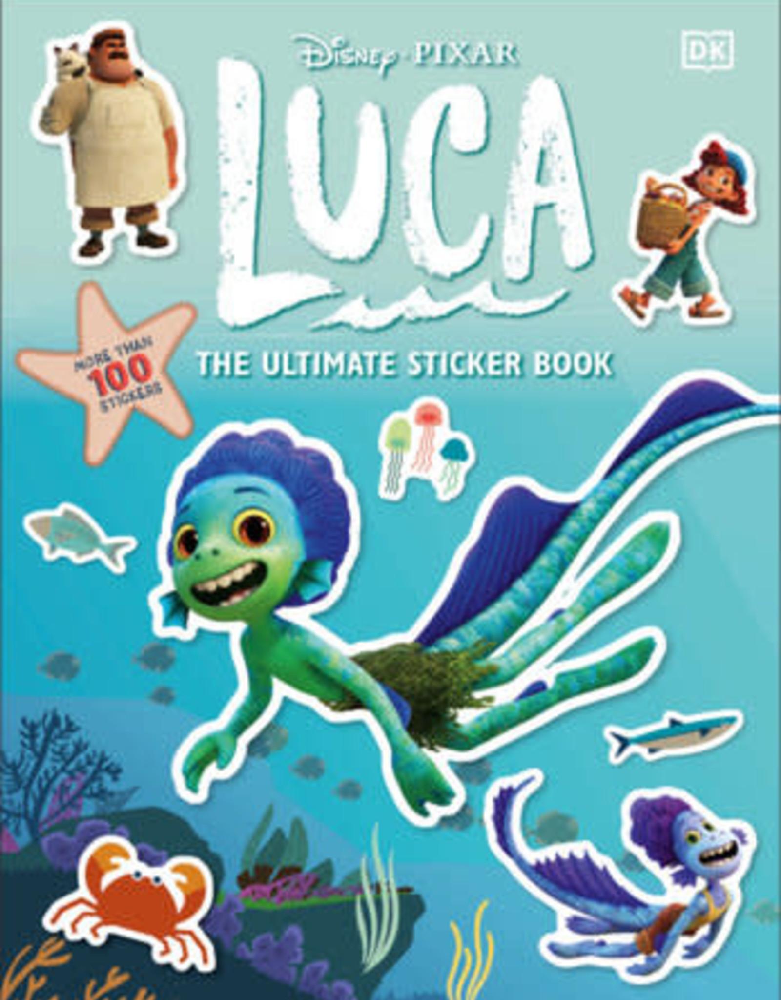 Luca Sticker Book
