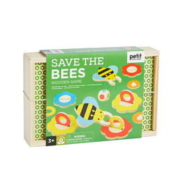 Petit Collage Save the Bees Wooden Game