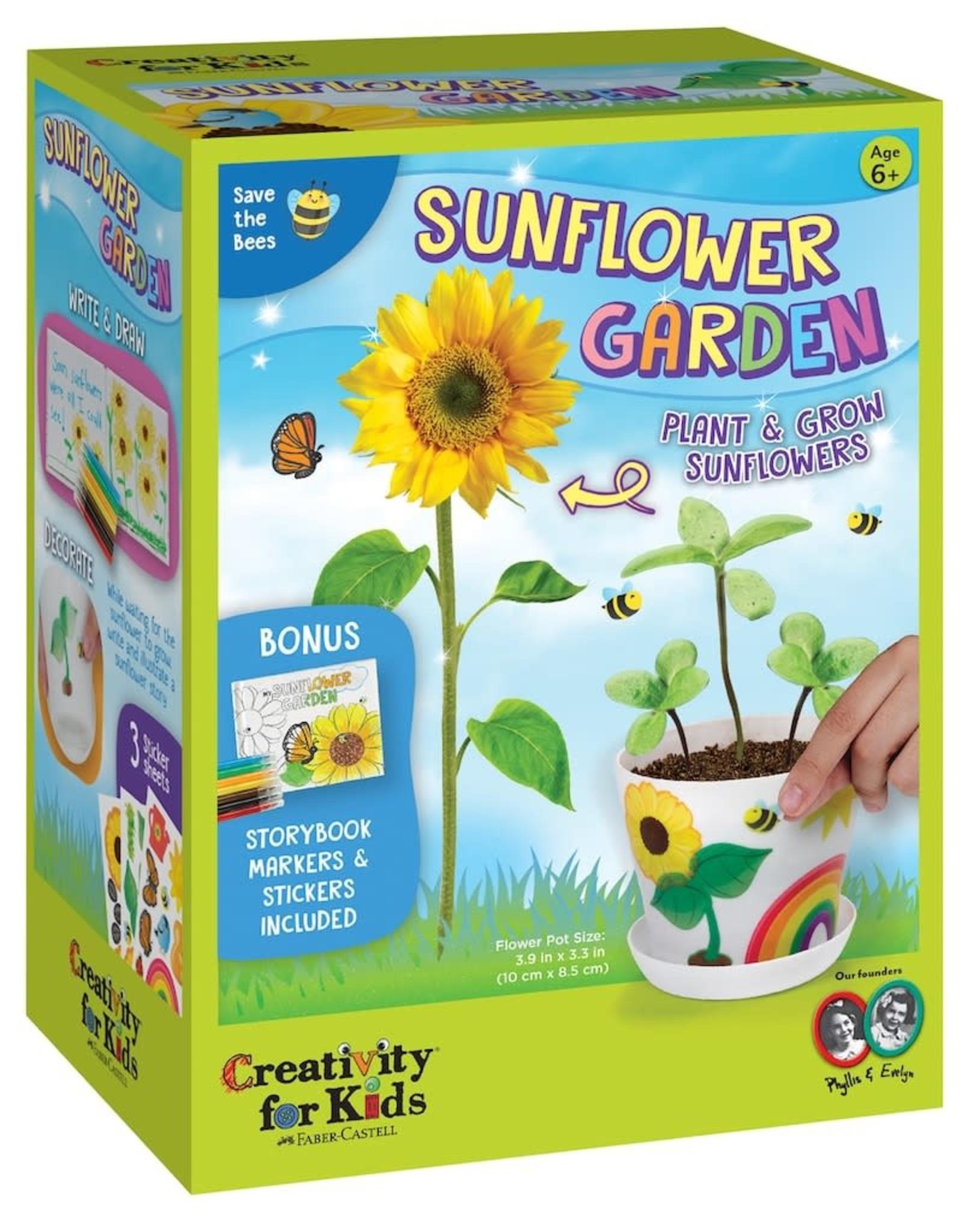 Creativity For Kids Sunflower Garden