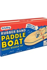 Schylling Wooden Rubber Band Paddle Boat