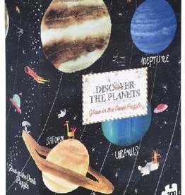 Londji Discover the Planets Glow in the Dark 200 Piece Puzzle by Londji