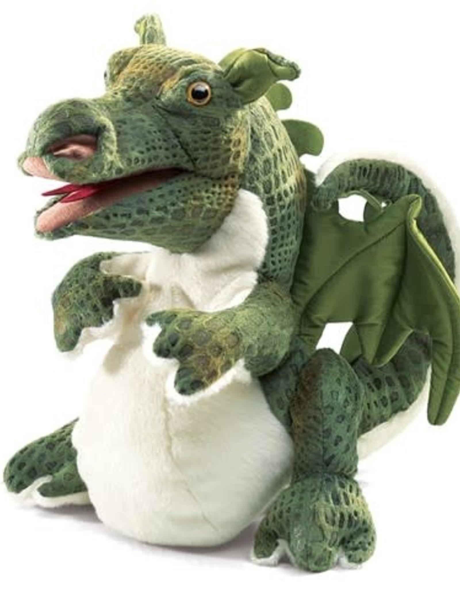 Folkmanis Baby Dragon Puppet