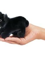 Folkmanis Mini Black Bear Finger Puppet