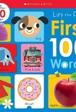 Scholastic First 100 Words: Scholastic Early Learners Lift the Flap