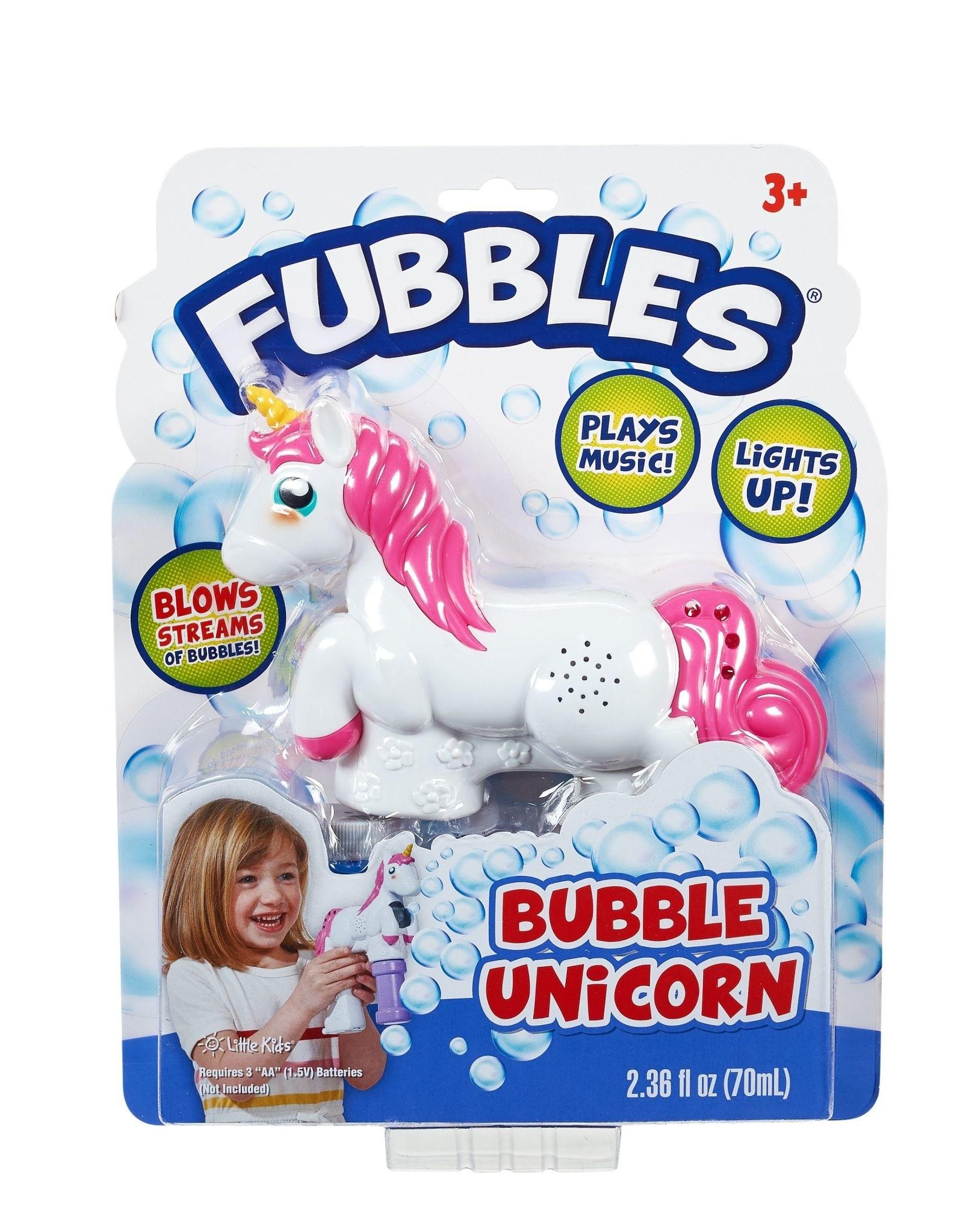 Fubbles Fubbles Bubble Unicorn Blower