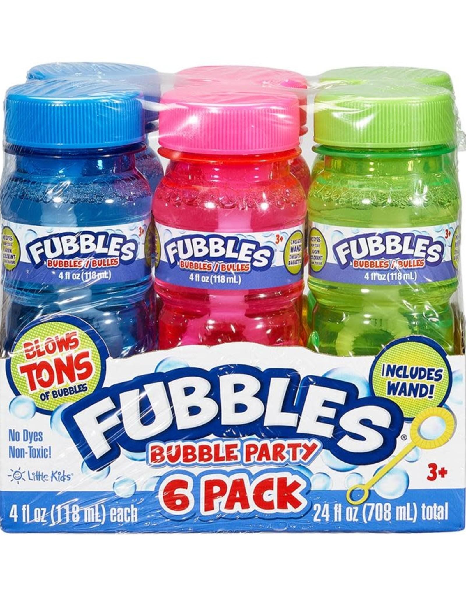 Little Kids Inc. Fubbles Bubbles Party Pack - 6 Pack