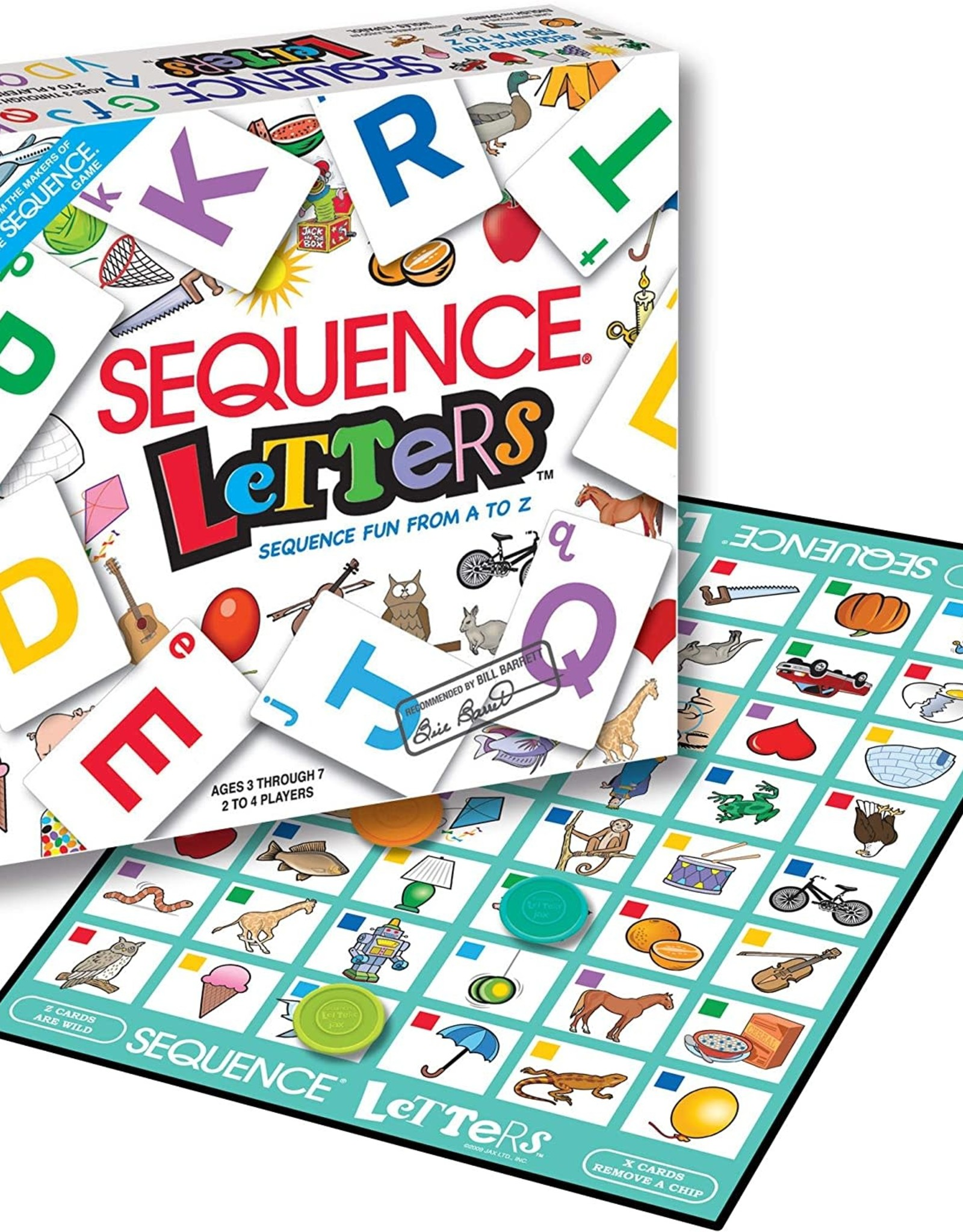 Pressman Toys Sequence Letters