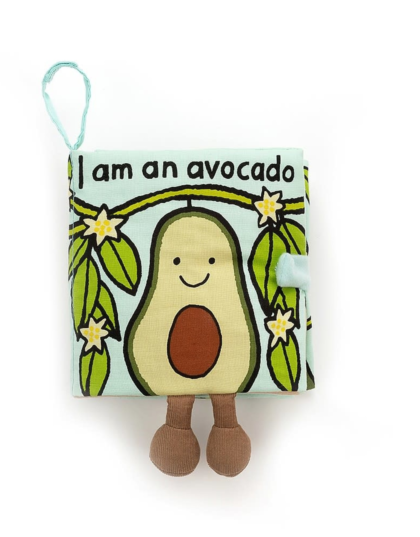Jellycat I Am An Avocado Book