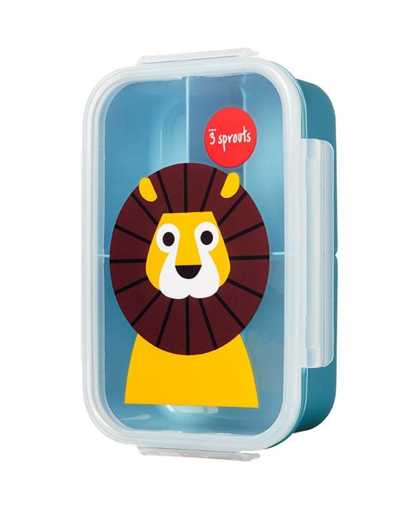 3 Sprouts Lion Bento Box