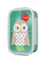 3 Sprouts Owl Bento Box