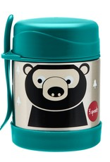 3 Sprouts Stainless Steel Food Jar - Bear