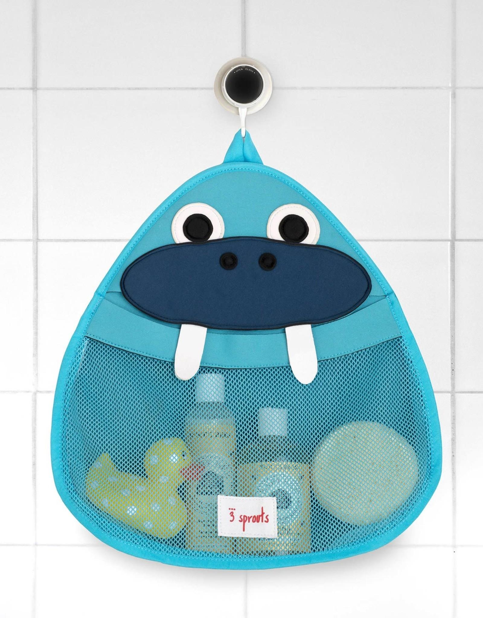 3 Sprouts Walrus Bath Toy Storage Bag