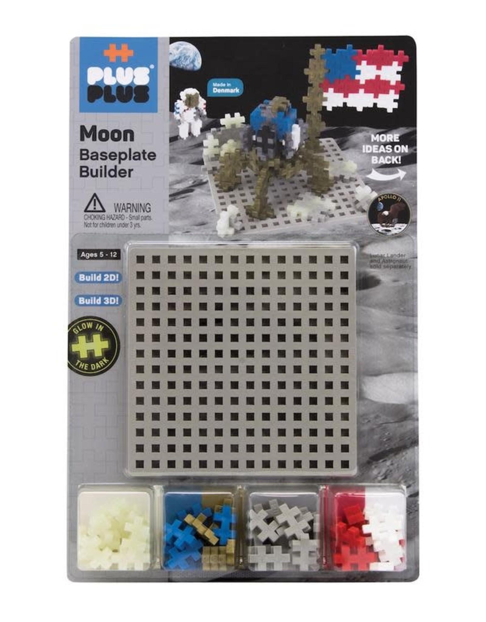 Plus-Plus Plus Plus Baseplate Builder Moon