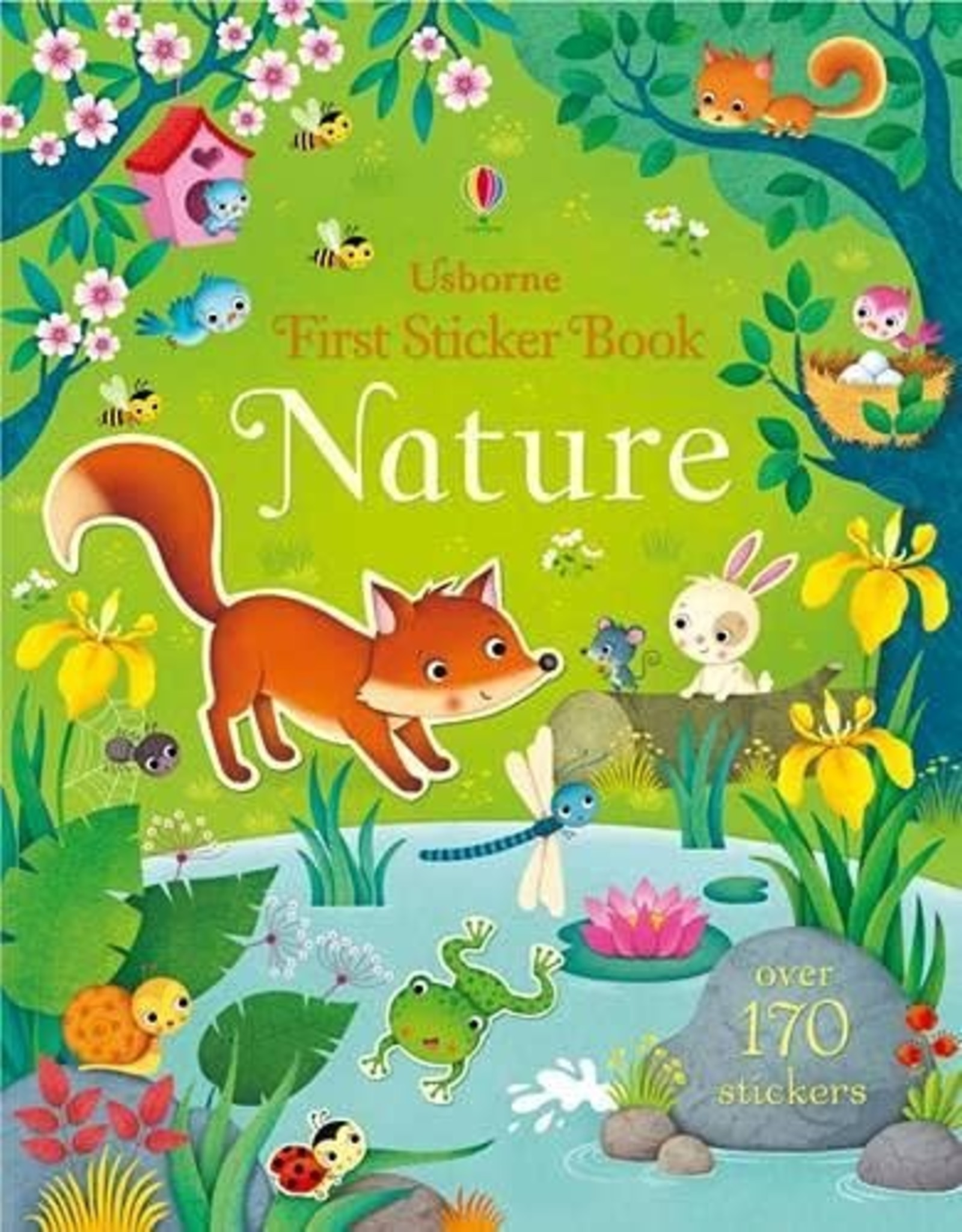 Usborne Usborne First Sticker Book: Nature