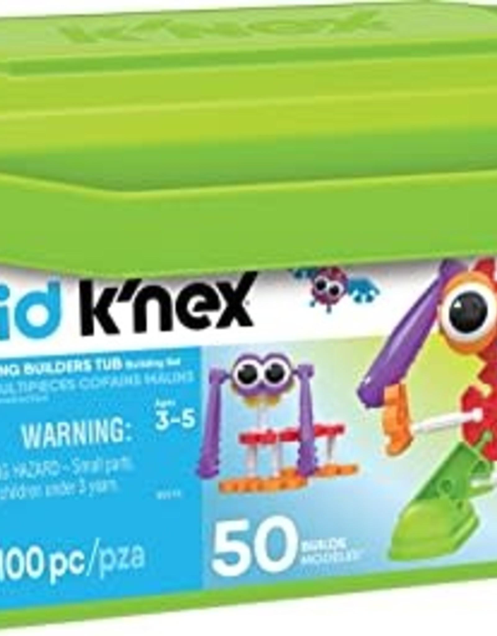 K'Nex Kid K'Nex 100PC Budding Builders Tub