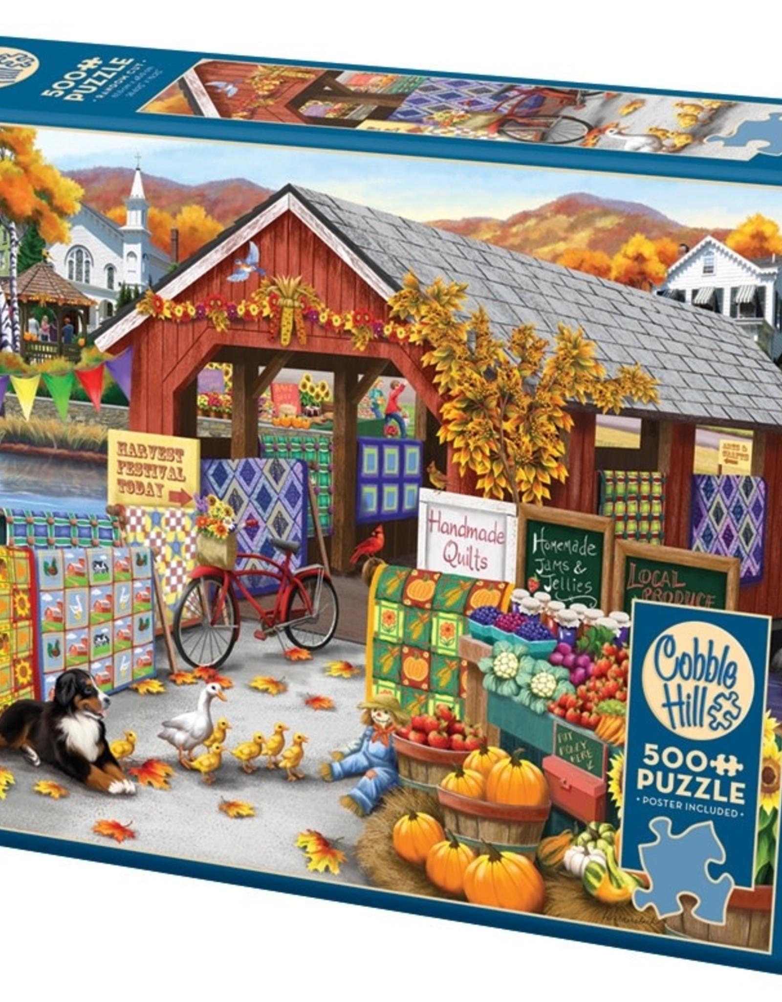 Cobble Hill Puzzles Harvest Festival - 500pc Puzzle