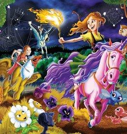 Cobble Hill Puzzles Mystical World 350 Piece Family Puzzle
