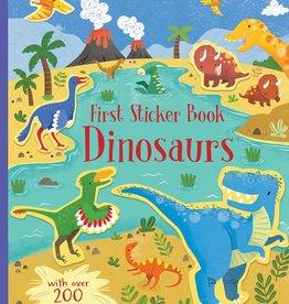 Usborne Usborne First Sticker Book - Dinosaurs