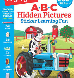Highlights ABC Hidden Pictures Sticker Learning Fun