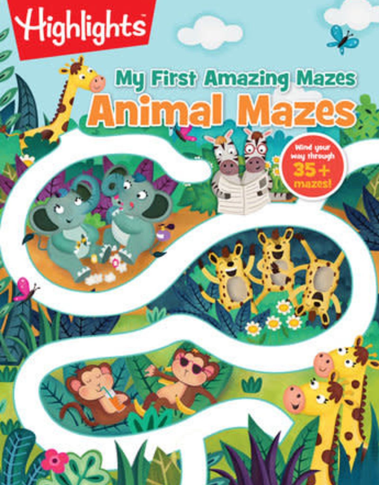 Highlights Animal Mazes