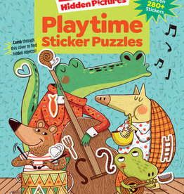 Highlights Playtime Puzzles Sticker Book