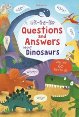 Lift the Flap Questions and Answers About Dinosaurs