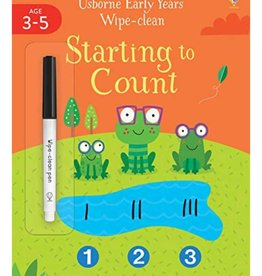 Usborne Usborne Early Years Wipe Clean Starting To Count