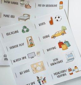 Reward'um Reward'um Task & Activity Add On Stickers