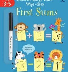 Usborne Usborne Wipe Clean First Sums