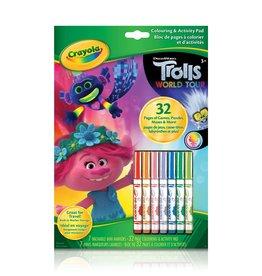 Crayola Crayola Colouring & Activity Pad - Trolls