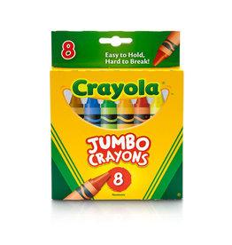Crayola Crayola Jumbo Crayons, 8 ct