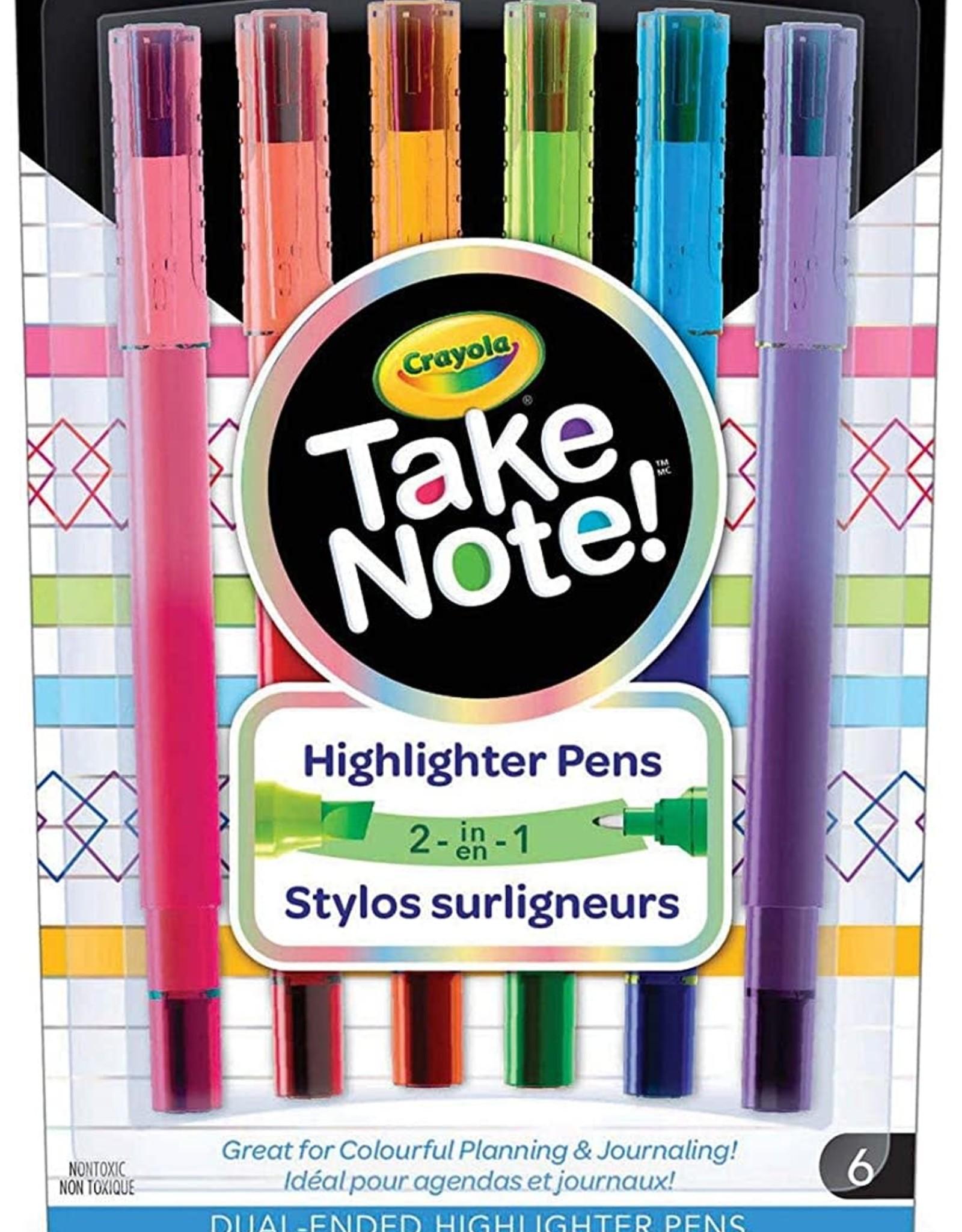 Crayola Crayola Take Note Highlighter Pens