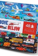 Crocodile Creek Above & Below 48-pc Puzzle - Things That Go