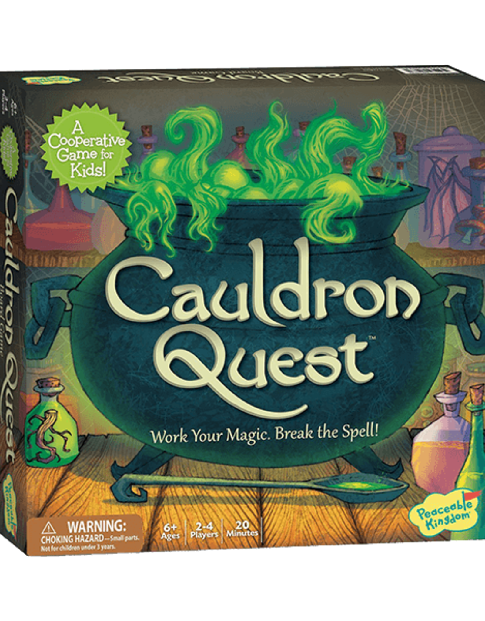 Peaceable Kingdom Peaceable Kingdom Cauldron Quest Board Game