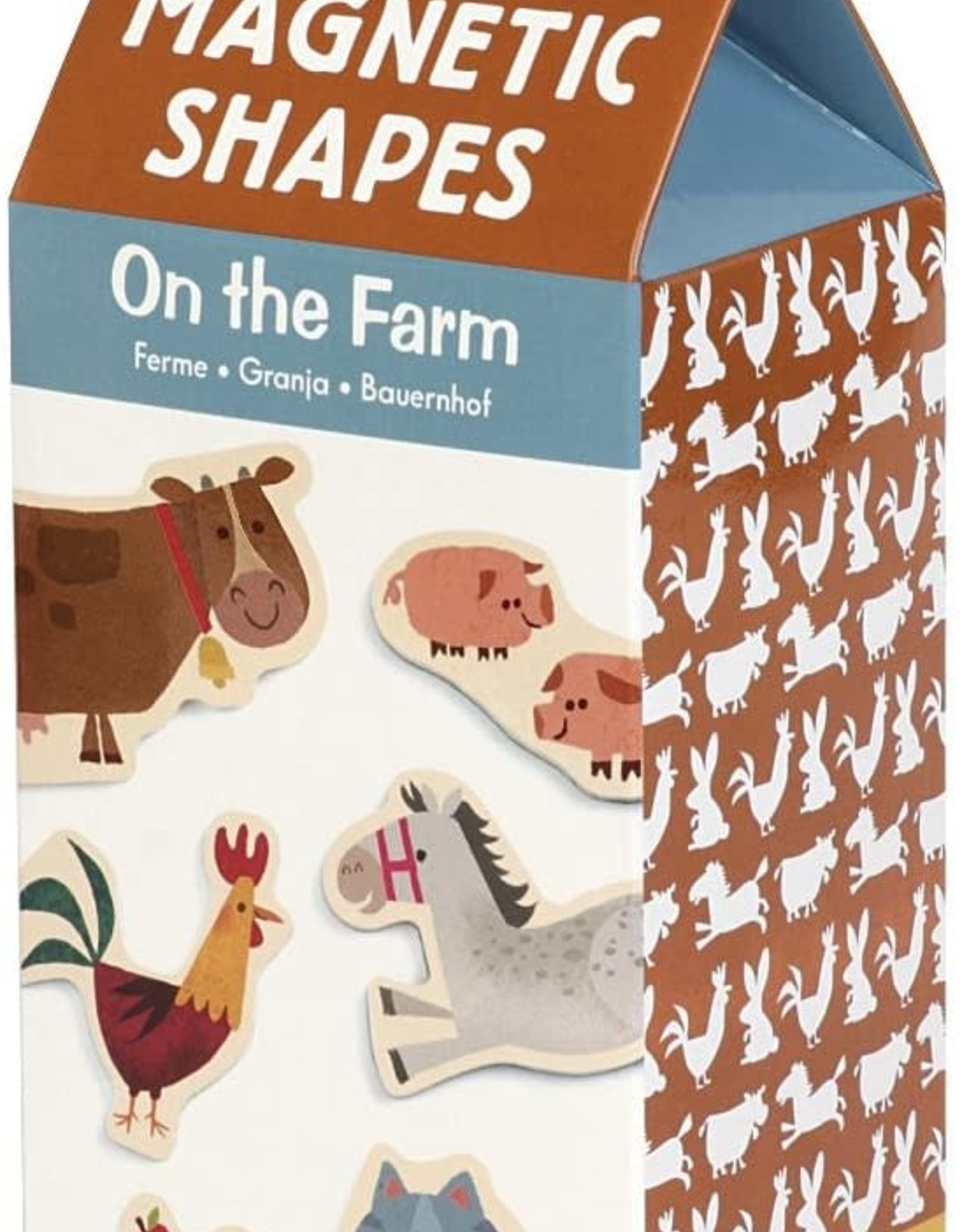 Mudpuppy On the Farm Wooden Magnets