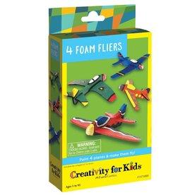 Creativity For Kids 4 Foam Flyers Mini Kit