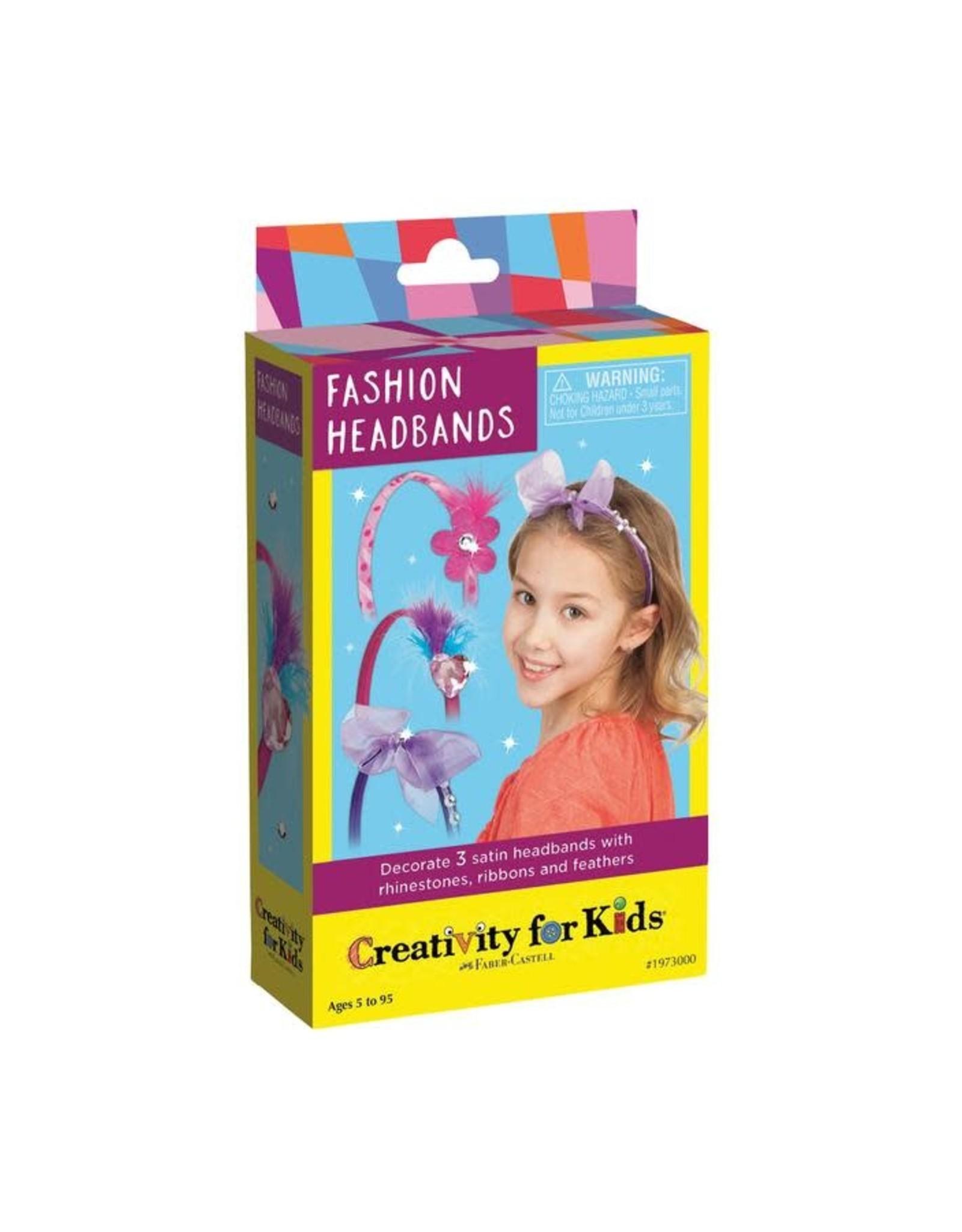Creativity For Kids Fashion Headbands Mini Kit