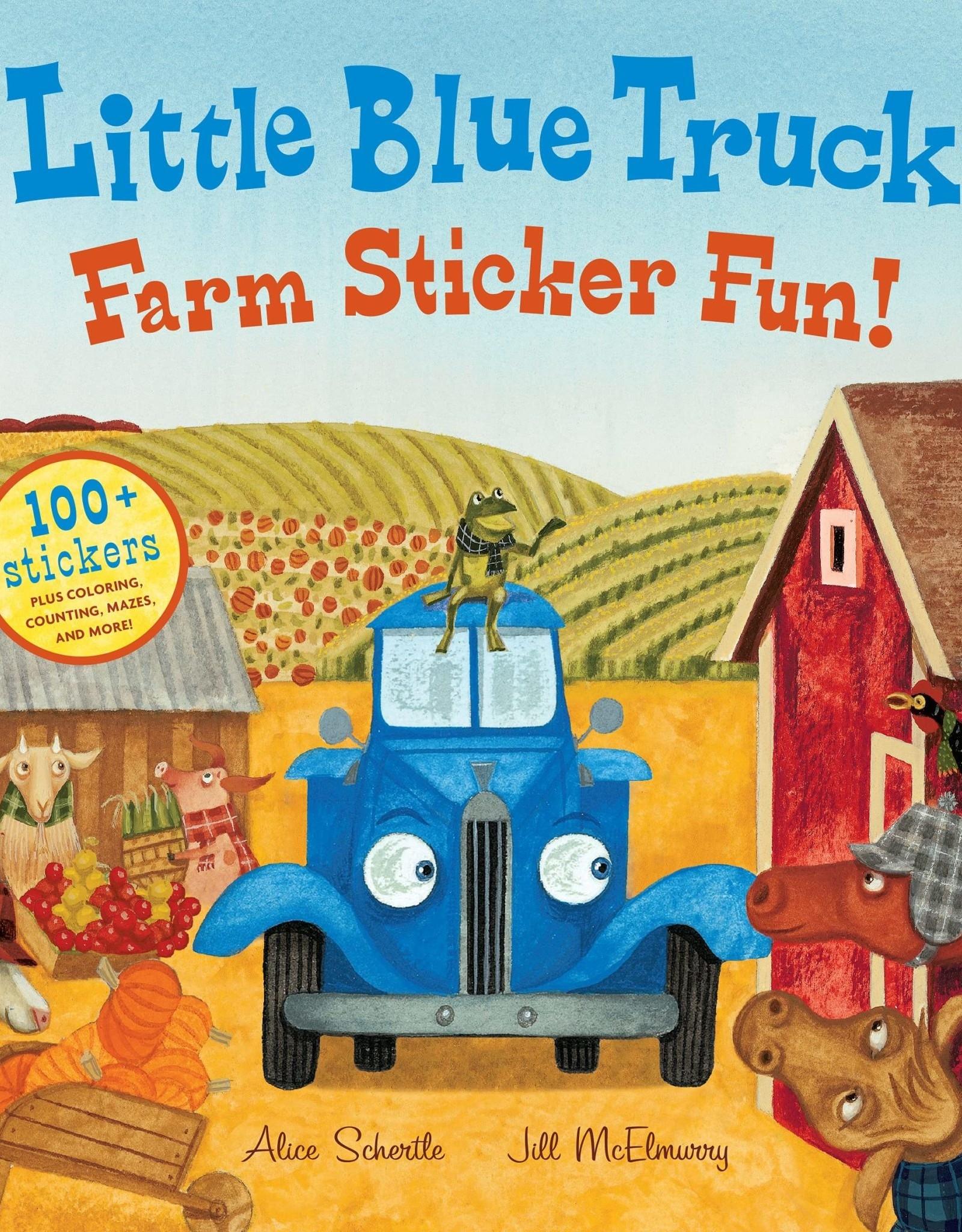 Little Blue Truck: Farm Sticker Fun