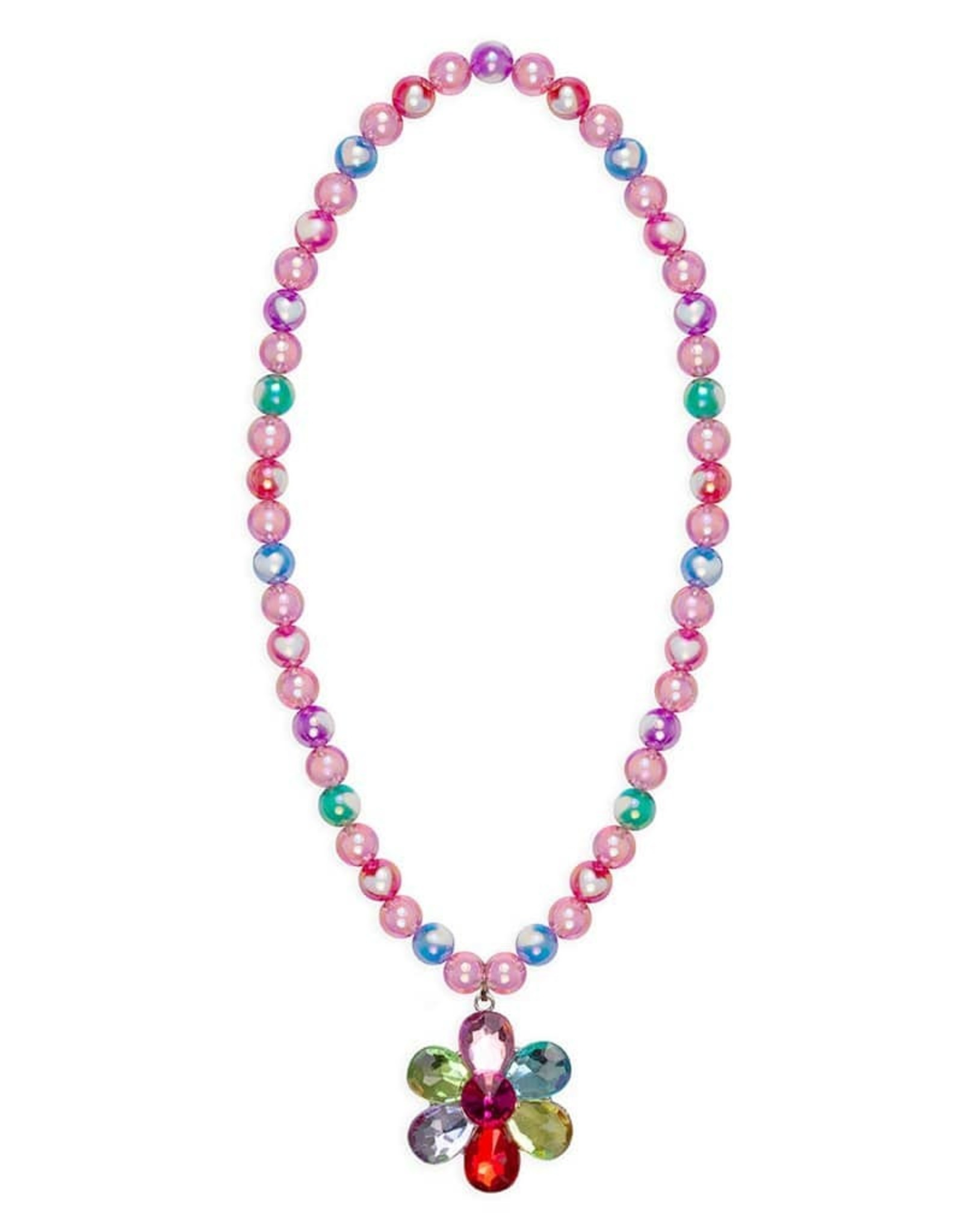 Great Pretenders Flower Gem Bead Necklace