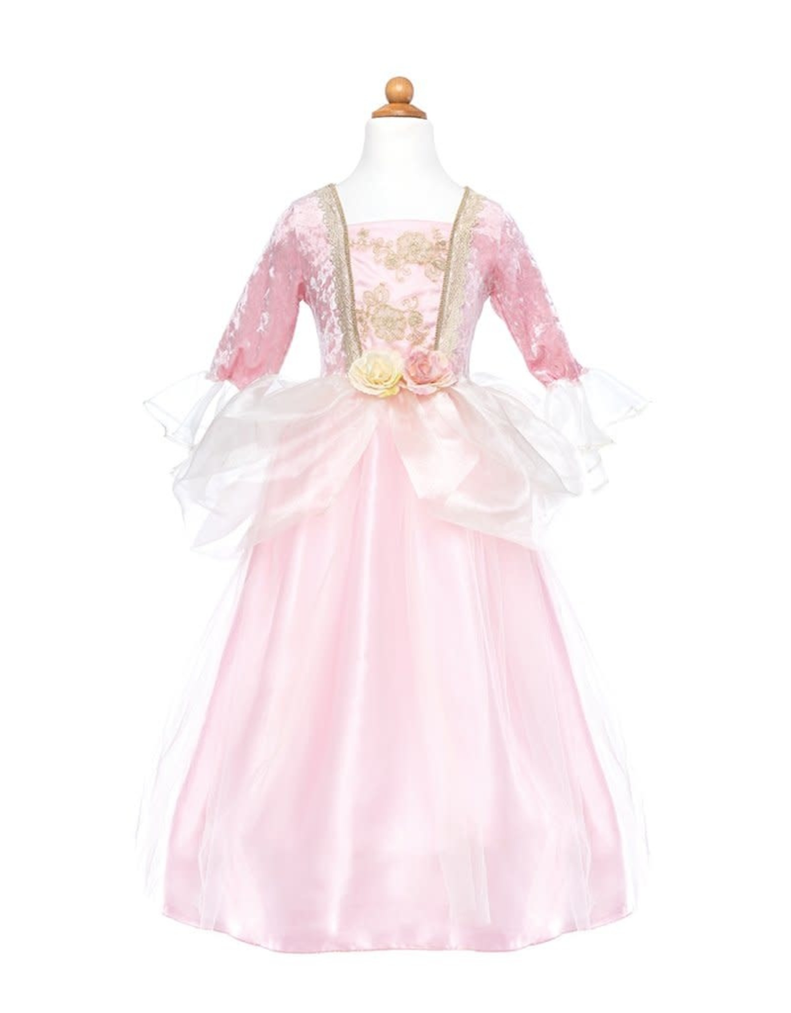 Great Pretenders Pink Rose Princess Dress, Size 3-4