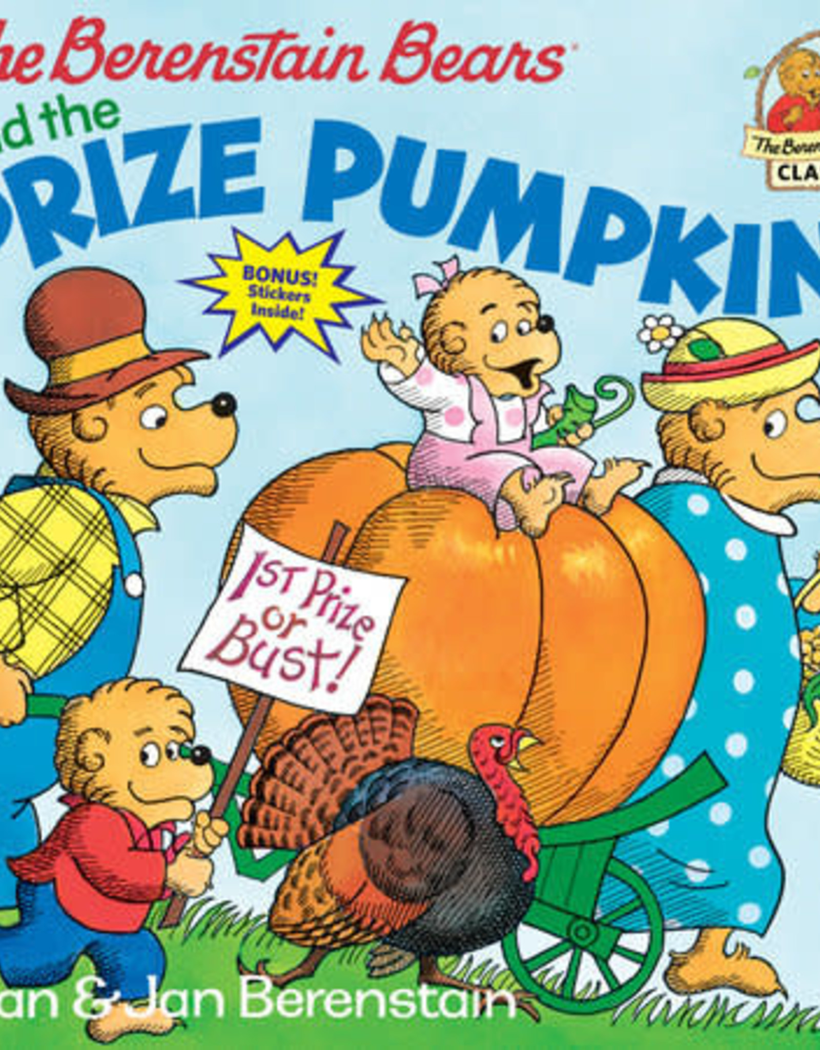 Berenstain Bears Prize Pumpkin