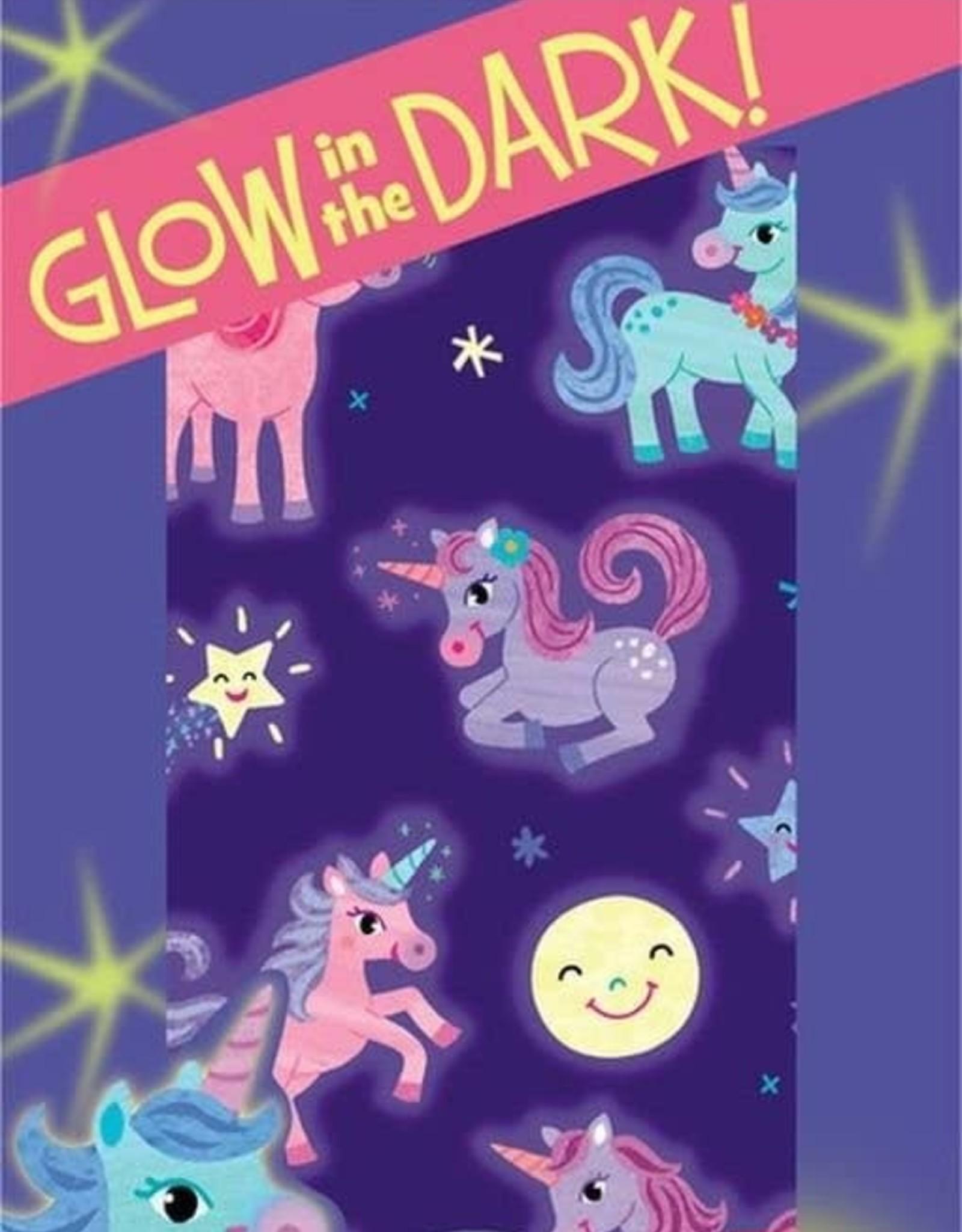 Peaceable Kingdom Glow in the Dark Unicorn Stickers