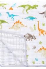 Stephen Joseph Muslin Stroller Blanket Dino