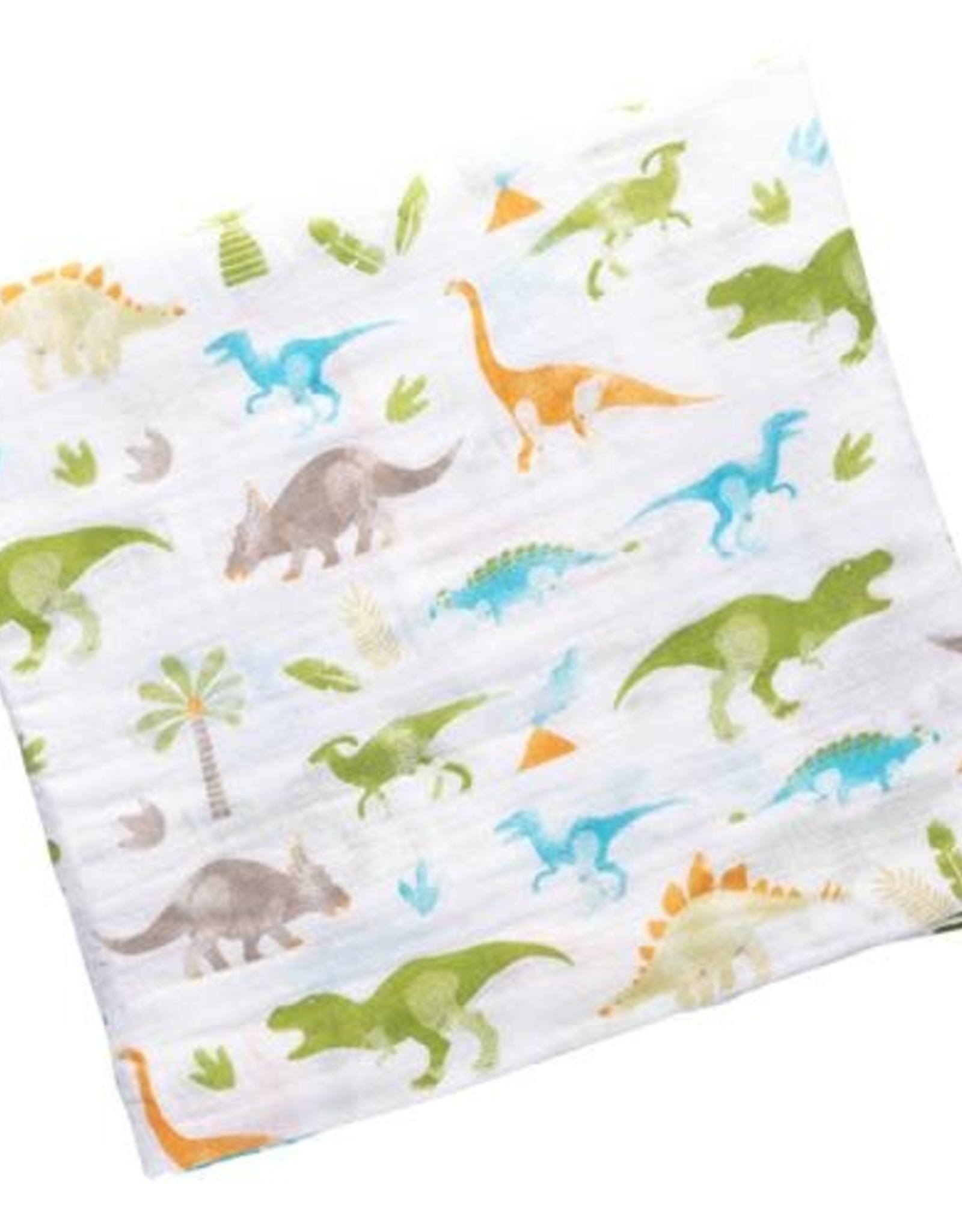 Stephen Joseph Muslin Swaddle Blanket Dino