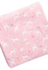 Stephen Joseph Muslin Swaddle Blanket Unicorn