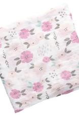 Stephen Joseph Muslin Swaddle Blanket Floral