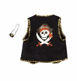 Great Pretenders Pirate Vest with Eye Patch