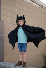 Great Pretenders Black Bat Cape with Hood