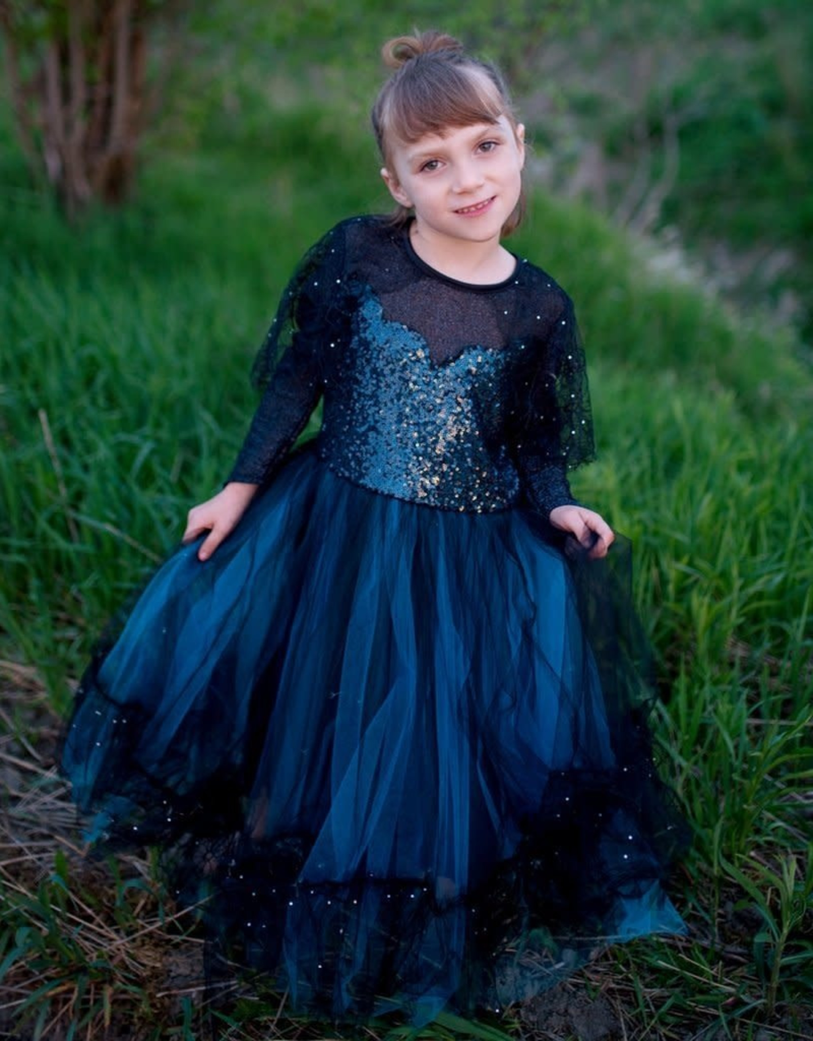Great Pretenders Luna the Midnight Witch, Size 7-8